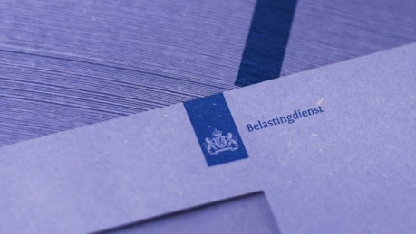 Blauwe envelop belastingdienst